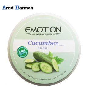 کرم مرطوب کننده ایموشن مدل Cucumber